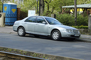 Rover 75 silver front right side.jpg