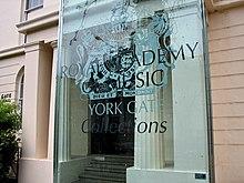 La Royal Academy of Music di Londra, presso la quale Elton intraprese i propri studi musicali