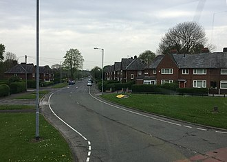 Wythenshawe - Image: Royalthorn Road 10 05 2016