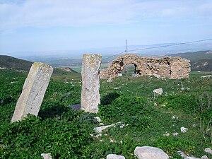 Téboursouk - Ruins at Téboursouk.
