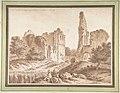 Ruins of the Château of Becoiseau, near Mortcerf (seine-et-Marne) MET DP804174.jpg