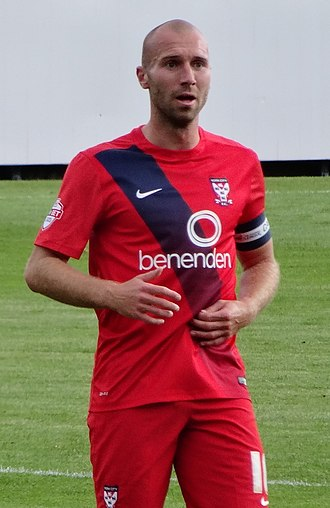 Russell Penn - Penn playing for York City in 2015