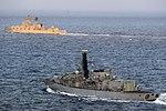 Russian cruiser Marshal Ustinov and HMS St Albans MOD 45165060.jpg