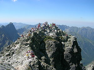 Rysy - The north-western summit