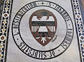 S. croce, tomba sul pavimento 99.02 de silvestri.JPG