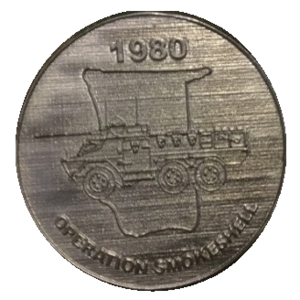 Operation Sceptic - SADF Operation Smokeshell participation medallion