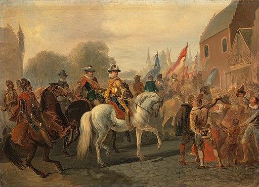 SA 4866-Anno 1591. De zegevierende terugkeer van Maurits in Den Haag