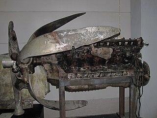 Klimov M-103 1930s Soviet piston aircraft engine