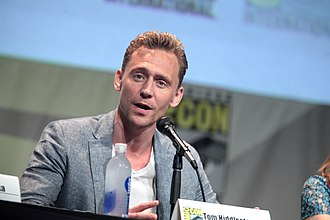 Tom Hiddleston - At the San Diego Comic-Con International in 2015.
