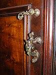 SM Maggiore, Rome - Door handle, Sagrestia (dragon).jpg