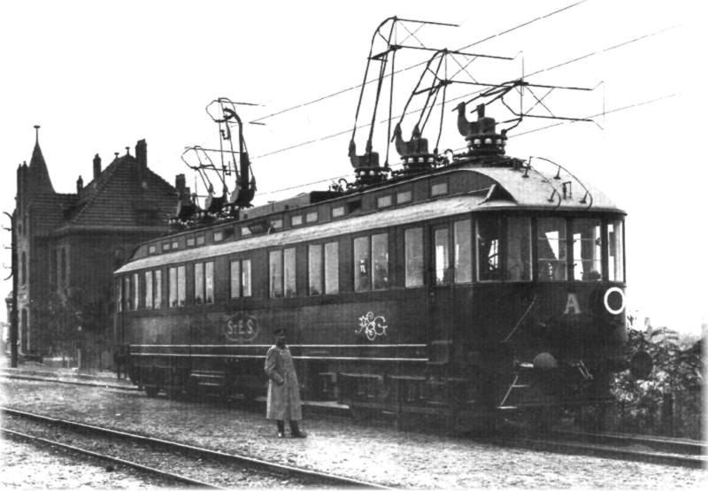 STES-AEG Versuchstriebwagen