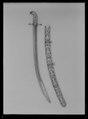 Sabel, kilij, Turkiet, 1600-talet - Livrustkammaren - 10547.tif