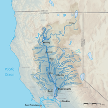 Sacramento River watershed