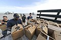 Sailors load supplies onto a truck at Naval Air Station Key West. (36372942023).jpg
