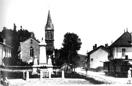 Saint-Clair-de-la-Tour around 1925