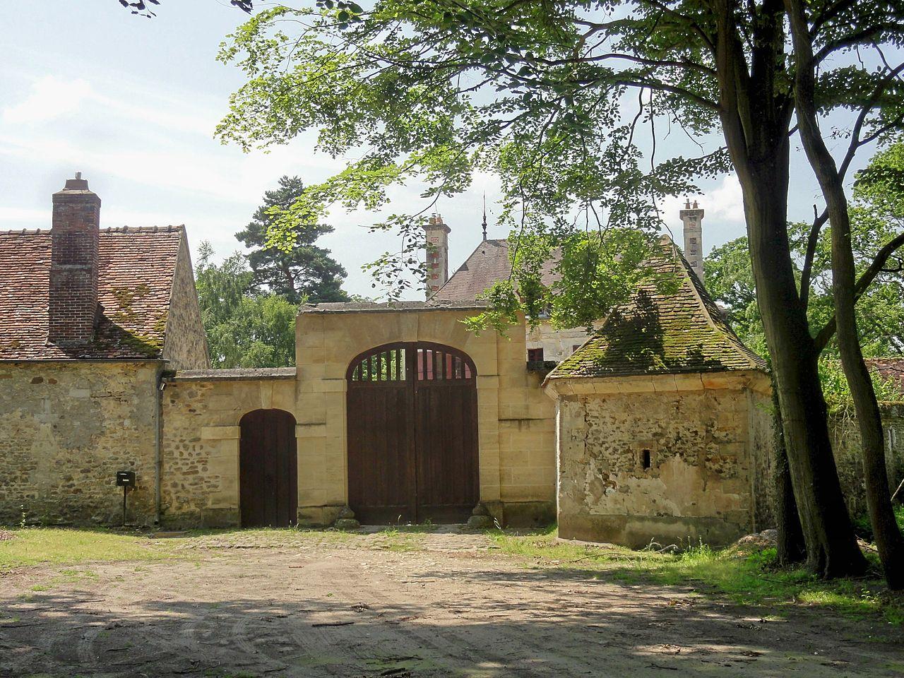 Fichier Saint Jean aux Bois (60), maison foresti u00e8re de la Muette 1 jpg u2014 Wikipédia # Saint Jean Au Bois