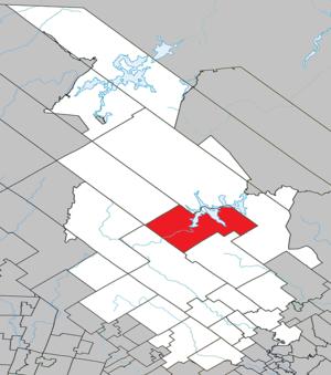 Saint-Michel-des-Saints, Quebec - Image: Saint Michel des Saints Quebec location diagram
