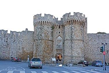 Saint Catherine's Gate, Rhodes 2010.jpg