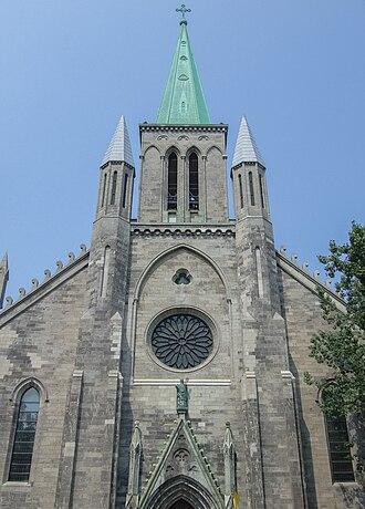 St. Patrick's Basilica, Montreal - Image: Saint Patrick Basilica Montreal