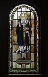 Saint Paul Catholic Church (Westerville, Ohio) - stained glass, arcade, Saint Patrick.jpg