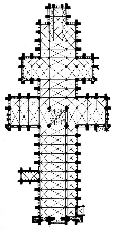 Salisbury cathedral plan vert