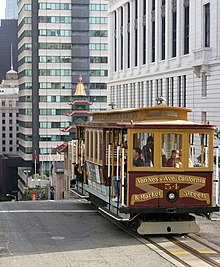 San Francisco Cable Car System Wikipedia