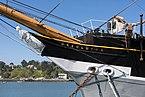 San Francisco Maritime National Historical Park 2019, Balclutha, Bowsprit.jpg