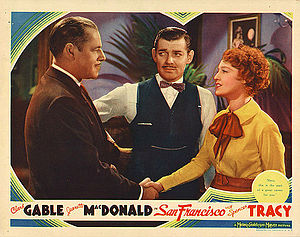 San Francisco (1936 film) - Lobby card
