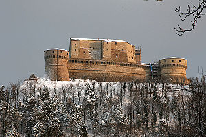 San Leo - The fortress (Rocca) of San Leo
