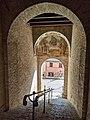 San Marcello, porta orientale con affresco.jpg