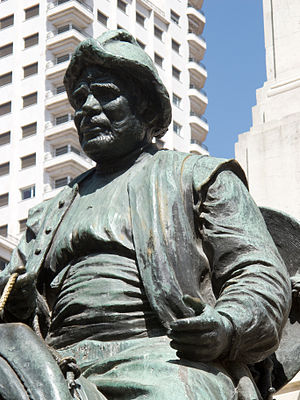 Sancho Panza - Monumento a Miguel de Cervantes