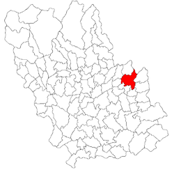 Location of Sângeru