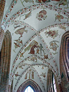Sankt Mariae Helsingoer- Kalkmalerier
