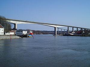 Sannesund Bridge - Image: Sannesund Bridge 02