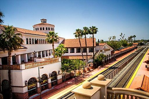 Santa Ana Amtrak Station