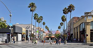 Third Street Promenade - A picture taken in the heart of the Promenade