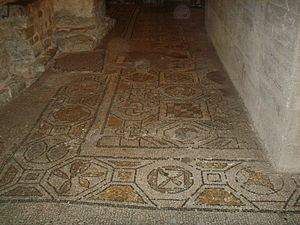 Santa Reparata, Florence - Excavated mosaic pavement