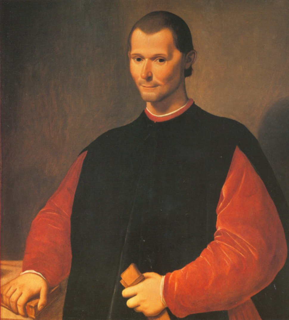 Santi di Tito - Niccolo Machiavelli's portrait