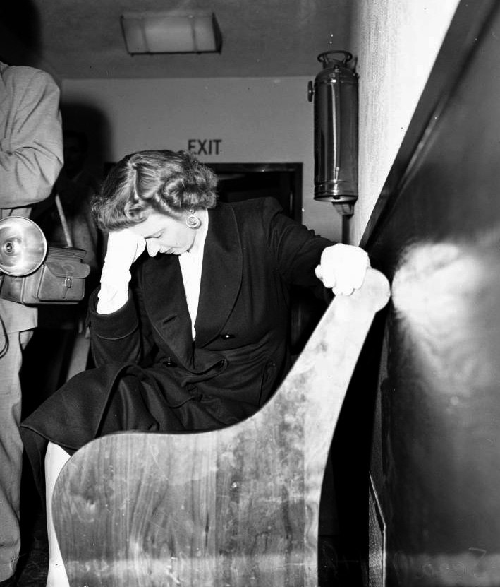 Sara Hubbard custody hearing 24 Apr 1951