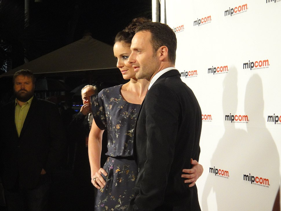 Sarah Wayne Callies and Andrew Lincoln of The Walking Dead