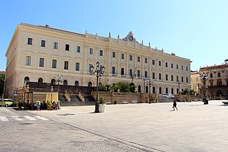 Province of Sassari - The Palace of the Province of Sassari, Sassari