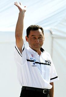 Satoru Nakajima Japanese racing driver