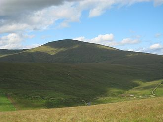 Sperrins - Image: Sawel mountain