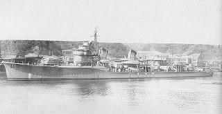 Japanese destroyer <i>Sazanami</i> (1931) Fubuki-class destroyer