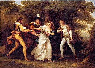 <i>The Two Gentlemen of Verona</i> play by William Shakespeare