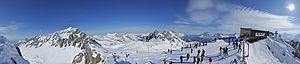 Arlberg - Image: Schindlerspitze Pano