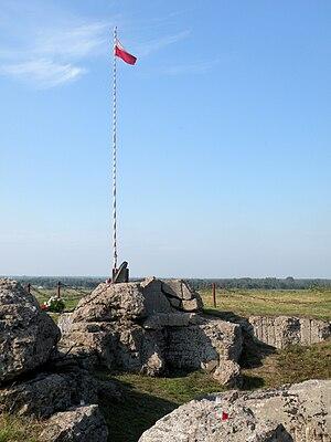Władysław Raginis - Monument to Władysław Raginis near Góra Strękowa