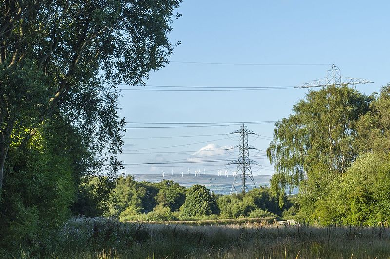 File:Scout Moor Wind Farm on Hail Storm Hill (taken from Clifton Moss) - panoramio.jpg