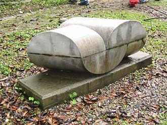 Sérgio de Camargo - Marble sculpture in Sculpture Park, Nutibara, Medellín, Colombia