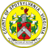 Official seal of Spotsylvania County